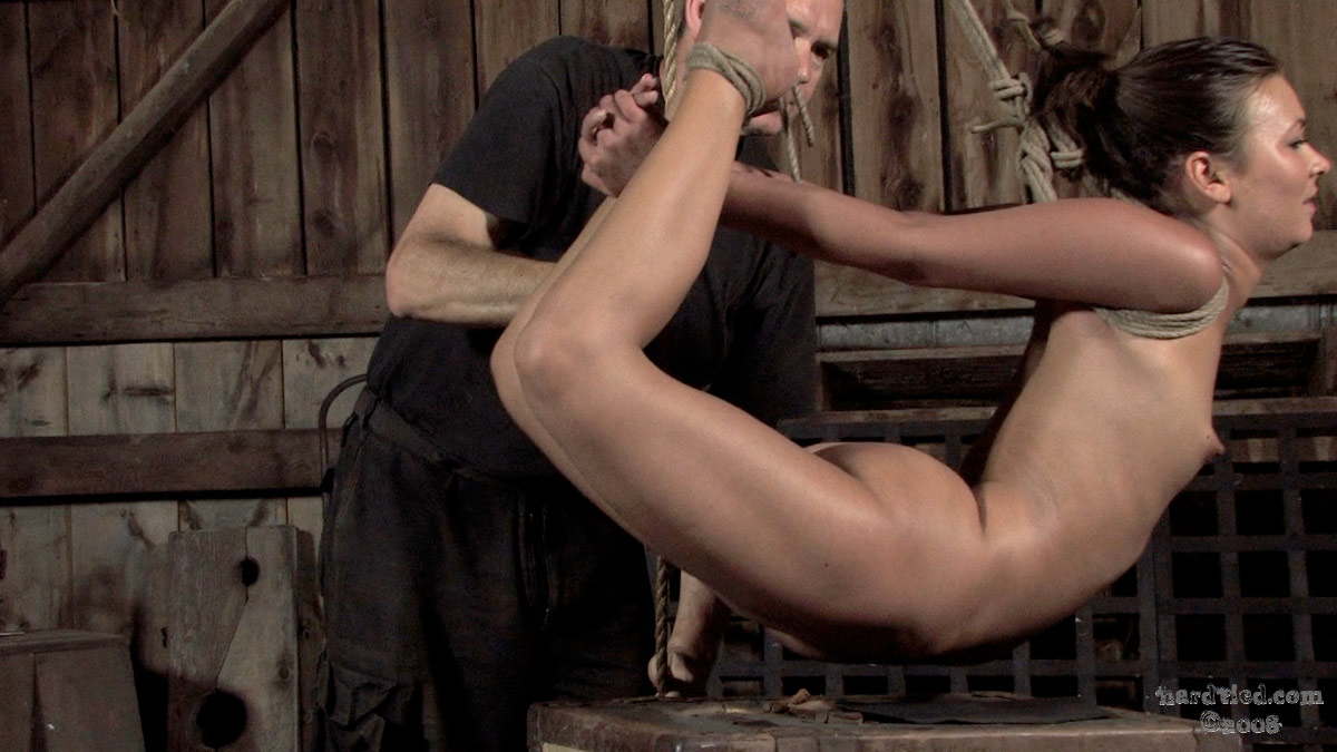 Hard tied bdsm